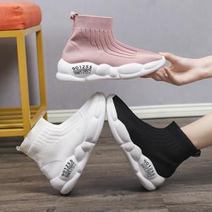 Stretch Çorap Baba Ayakkabı Torre Spor Ayakkabı Nefes Casual Aksak Sneakers Koşu Kadınlar 2019 Sıcak Yeni Yaz yüksek topuklu ayakkabılar
