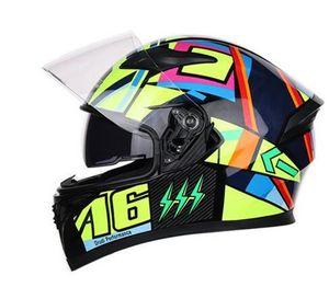Jiekai motociclista casco da motociclista casco con built-in occhiali da sole di scooter casco antivento e caldo