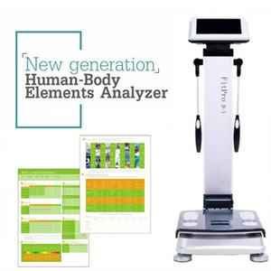 Facile da usare Full Body Composition Analyzer corpo di prova Composizione analizzatore di grasso per uso domestico analisi di impedenza bioelettrica macchina