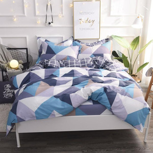 100%Cotton Bedding sets Duvet cover bedsheets Cotton Bed Fitted Sheet Twin Queen King size Bed set parure de lit ropa de cama