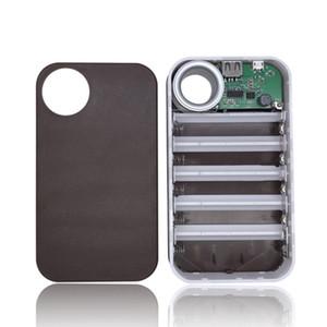 13000mAh USB Power Bank 5x18650 carregador de bateria DIY Box titular caso para o telefone LG carregamento portátil para telefone poverbank externa