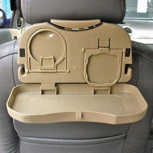Araba -Sıcak Yeni Katlama Otomatik Araç Geri Koltuk Masa İçecek Cup Coffee Cup Tepsi Tutucu Standı Danışma Sıcak İç YpIO #