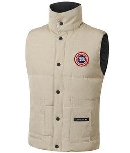 Роскошный гусиный жилет куртка канадский стиль мужская дизайнерская куртка пальто мужчины и женщины высокое качество зимой мужской теплый жилет