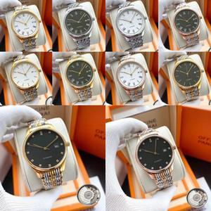 Longines Diamant Automatikuhr Frauen Dame Luxus-Designer-Uhren Damen weiblich kleiden Schnalle Gold Armbanduhren stieg Geschenk für Mädchen QMtZ #