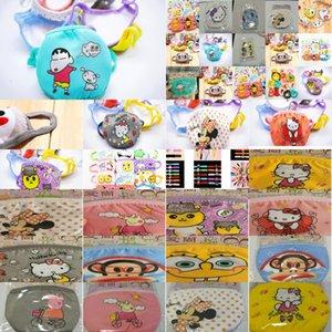 Симпатичные Cubrebocas маски хлопчатобумажной ткани младенца Двойные маски Tapabocas Детский мультфильм собака лица пыли Childrens Dhwdj