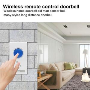 Akıllı Kablosuz Uzaktan Kumanda Kapı zili Ev Otel Güvenlik Elektrikli Kapı Yüzük Pratik Güvenlik Accessaries Parçaları