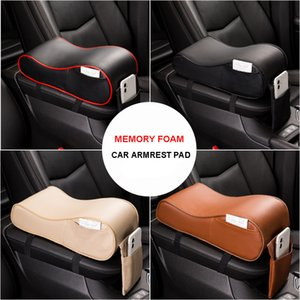 Automotive supplies memory cotton armrest cushion vehicle-mounted central armrest box universal heightening cushion interior
