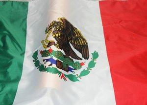 x 3 pies colgantes México 5 pies Poliéster mexicana Nacional indicador de la bandera al aire libre 150x90cm cubierta para la celebración