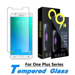 Film de protection écran pour OnePlus 6, OnePlus 6T, OnePlus 7, OnePlus 7T Film en verre trempé avec 0.33mm Paper Box