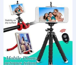 """Desktop Griff Stabilizer-Stativ-Halter für Handy-Kamera Universal-Mini-Stativ 75"""" Rotation mit Bluetooth-Fernauslöser"""