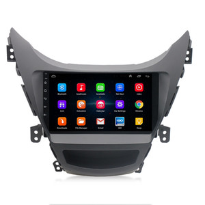 Хорошее качество Сенсорный экран Android GPS Встроенный Car Radio Видео для HYUNDAI ELANTRA 2011-2013 Android автомобильный DVD-плеер
