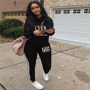 Panelled Long Sleeve Long Pants Womens 2PCS Sets Casual Females Clothing Designer Womens Letter Print Tracksuits Fashion