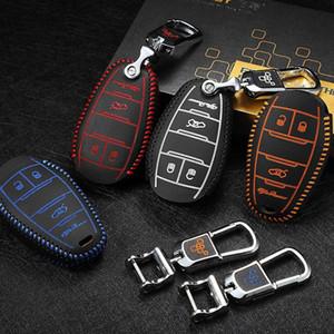 Car Bag chiave coprire 2013-2020 OEM per Alfa Romeo Giulia Stelvio fondina in pelle borsa auto chiave Cassa chiave accessori auto 3 pulsante