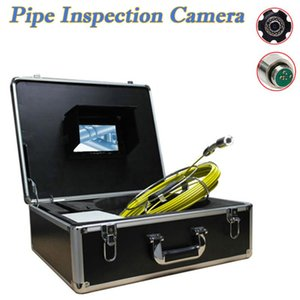 1000TVL CCTV-Pipe Inspection Camera Equipment 7inch Monitor 20m Long Cable Used For Underwater Sewer Drain Industrial Inspection