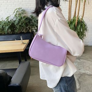 Lady Shoulder Colorful For Bag PU Women Armpit Designer Handbags Baguette Leisure Mini Female Leather Totes Bag French Purse Eqfrm