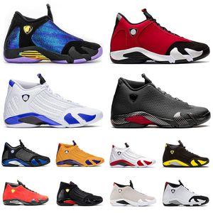 retro 14 aj 14s XIV 2020 Shoes Jumpman Mens Basketball 14 14s Gym Universidade Retro Red Blue Gold Spm Preto Doernbecher Homens Sneakers Trainers tamanho US 13