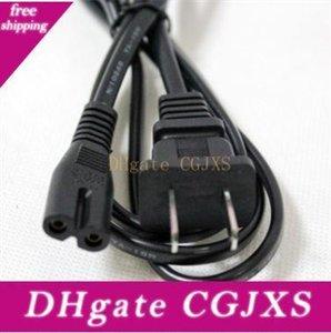 Figure 8 Cordon d'alimentation CA ligne de fil de remplacement câble secteur 1 .5M 5 pieds pour Playstation Portable Chargeur 2 Prong nous Eu Branchez