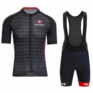 2020 2020 COLUMBUS CENTO ciclo la ropa Set de ropa de los hombres de manga corta Jersey y los cortocircuitos Kit de Verano MTB Ropa casados #