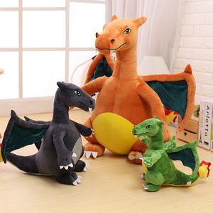 Mon Lapinou 30cm 45cm dinosaur plush toy anime figure stuffed charizard soft doll simulation fire-breathing dragon doll kids toy