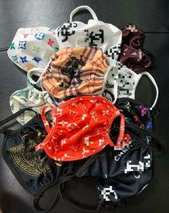 Venta al por mayor marca de diseño elemento de máscara para adultos mascarilla de las máscaras de protección mixta de algodón lavable en color de tela reutilizables área pública Unisex Hombres Mujeres