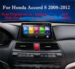 Yulbro android Car-Multimedia für Honda Accord 8 2008 2009 2010 2011 2012 Auto-DVD mit Radio Bluetooth-Navigation GPS-IPS-Bildschirm