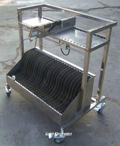 SMT alimentador Carrito de almacenamiento L800 * W600 * H1000 para Siemens Pick and Place Máquina sl8D #