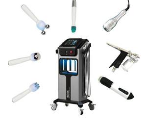 8 in 1 hydrafacial oxygen jet aqua peel machine microdermebrasion skin rejuvenation cryo facial and eye lifting beauty tools