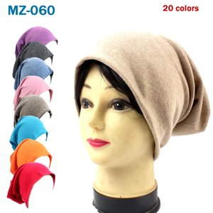 Adult Knitted Hat Candy Colors Men Women Loose Adjustable Knitting Cotton Hats Sport Street Hip Hop Casual Caps Sea Shipping DDA454