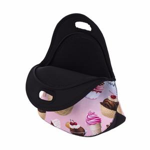 bolsa termica lancheira neoprene bread lunch bag milk large thermal bag lunch boxes women kids snacks school tote