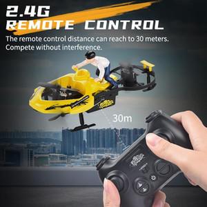 Vier Achsen RC Car Spielzeug Modell F7 Snowmobile 2.4G Fernbedienung Vechile LED RC Drone Quadcopter RTF Für Jungen-Kind-Geschenk 06