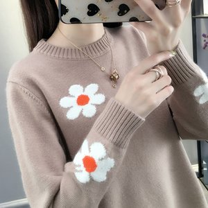 Vy1039 2020 spring autumn winter new women fashion casual warm nice Sweater woman female turtleneck oversized sweater