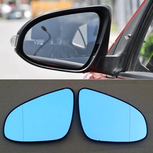 For Toyota Levin Car Rearview Mirror Wide Angle Hyperbola Blue Mirror Arrow LED Turning Signal Lights
