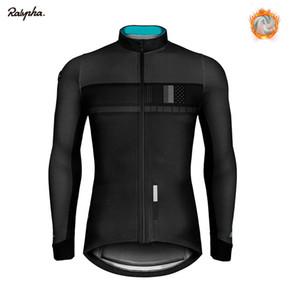 2020 Bike Jersey Pro Team Kleidung Winter Fleece einen.Kreislauf.durchmachenClothing Langarm Radfahren Shirts Ropa Ciclismo Triathlon