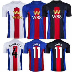 2020 2021 Zaha Soccer Jerseys Crystal Sakho Townsend Milivojevic 20/21 Casa Away 3rd Camicia da calcio