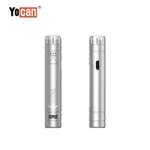 Original Yocan Armor Vape Battery Adjustable Voltage 10s Preheat Function with all 510 Threaded Atomizers for Yocan Armor Vaporizxer