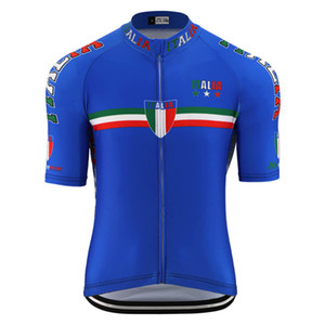 Summer new ITALIA national flag pro team cycling jersey men road bicycle racing clothing mountain bike jersey cycling wear clothing