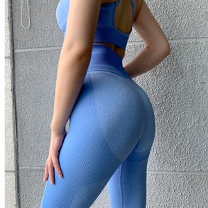 Factory Direct Sales Of High-Quality Women'S High-Waist Seamless Hip Hip Wicking Tights Fitness Pants Breathable Sports Running Training Pan