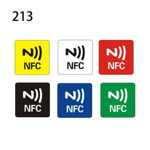 6pcs NTAG216 / NTAG213 NFC Etiquetas Etiqueta Teléfono Disponible etiquetas autoadhesivas RFID Shipp