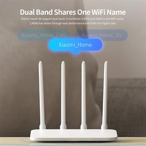 Xiaomiyoupin 4A Router Gigabit Edition 2.4GHz +5GHz WiFi DDR3 High Gain 4 Antenna APP Control Mi Router 4A WiFi Repeat Router