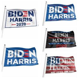 90 * 150 centímetros Biden Bandeira Harris Decor bandeira América Presidente Eleição Supplies EUA Hanging Digital Print Flags Jardim Decoração LJJP400