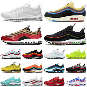 nike air max 97 airmax 97s Sean Wotherspoon 남성 운동화 전세계 chunky dunky 97s 남성 여성 트레이너 스포츠 스니커즈