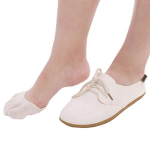 Women Yoga Socks Ballet Pilates Foot Care Sock Half-palm High Heels Five-finger Socks No Slip Breathable Invisible Slippers Sock
