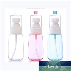 30ml fina niebla Spay mini botella de perfume Pequeño Vacío plástico transparente atomizador de pulverización Botellas maquillaje Muestra envase cosmético 0128