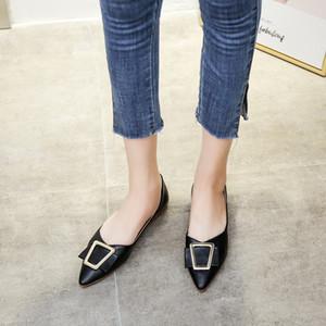 PUPUDA zeigte flache Schuhe Frauen New Loafers Sommer Leichte Lässige Lederschuhe Frauen Black Classic Female
