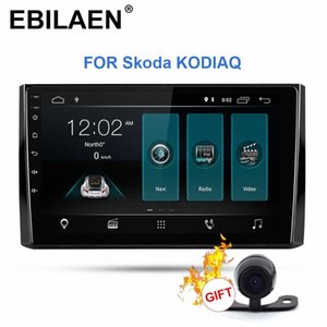 Rádio EBILAEN Car Multimedia Player Para Kodiaq 1DIN Android 9.0 Autoradio GPS Navigation DVD Cassete Stereo DVD player do carro Mobile DVD 1ug5 #