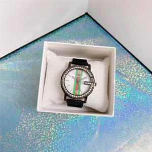 Италия Новой моды G марка полных алмазы Милан часы мужчины женщина унисекс платье Роскошной женские часы черные часы