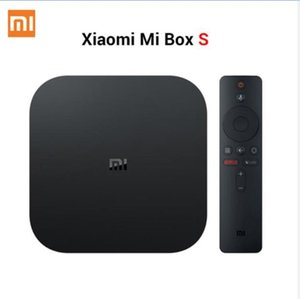 Xiaomi Mi TV Box S 4 Android 8.1 4K HD QuadCore inteligente Bluetooth 2GB 8GB HDMI WiFi configurar Caixas Media Player