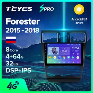 TEYES SPRO For Forester SJ xv 2020 - 2020 Car Radio Multimedia Video Player Navigation GPS Android 8.1 No 2din 2 din dvd car dvd