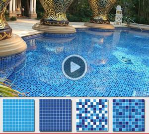 Amy ack lue cam mozaik havuz mozaik 3 cm / 2.5cm / 2cm karışık lue mozaik karolar kitcen acksplas atroom karo kağıt