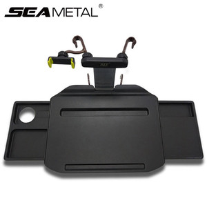 Car Holder Car Desk Coffee Holder Universal Steering Wheel Phone Folding Laptop Computer Table Seat Auto Goods Tray